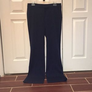 Anne Klein Navy Dress Pants